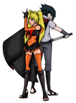 NarutoShippuden-Sailor Naruko and Her Cloud Prince by Heartless-Gone-Wild