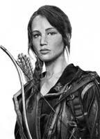 katniss everdeen by Mafin10