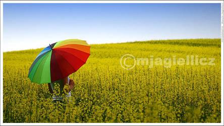 Under my umbrella by mjagiellicz