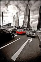 Berlin - Red light by mjagiellicz