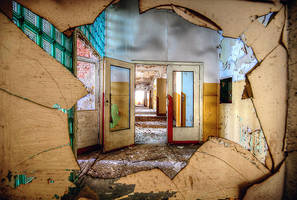 Abandoned sowiet hospital 2 by mjagiellicz