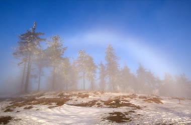White rainbow by mjagiellicz