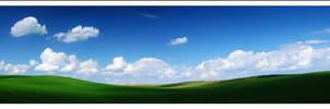 Spring landscape by mjagiellicz