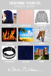 Describe your OC MEME: MU/MI Chris Milldew by pheonixfoxblood24