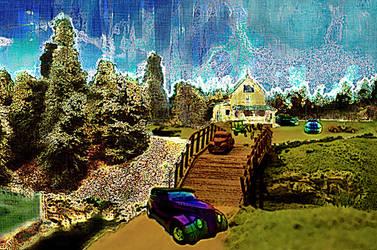 Bridgescape with Phaeton by Urceola