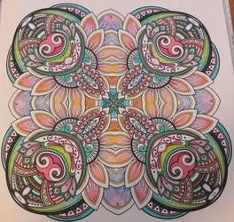 Mandala 0046 by Kewashiikuma