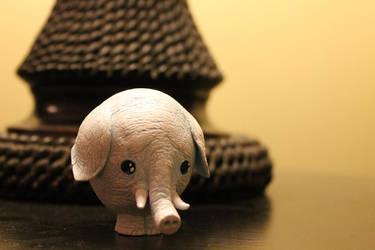 White Elephant by Kalapusa