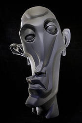 Abstract head by xRedRoosterx