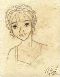 Miss Elizabeth by lily-azalea