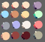 Skin colors by rika-dono