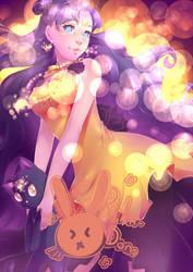 Sparkling Luna by rika-dono