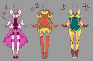 Adoptables - Armor Set -CLOSED- by rika-dono
