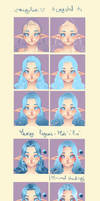 How I paint Hair by rika-dono