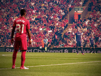 Raheem Sterling Liverpool FC by l24d