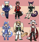 Fantasy adopts 1 [OPEN 3/6] by Kitsunka