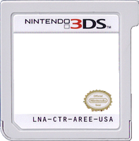 3DS Card Template by AaronMon97