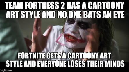 Joker Meme X - Cartoony Shooters by AaronMon97