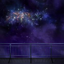 Stroll at night by Dinnartz