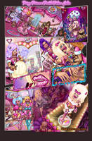 PRISSY PRINCESS POODLE PALACE FULL COLOUR by kaokatt