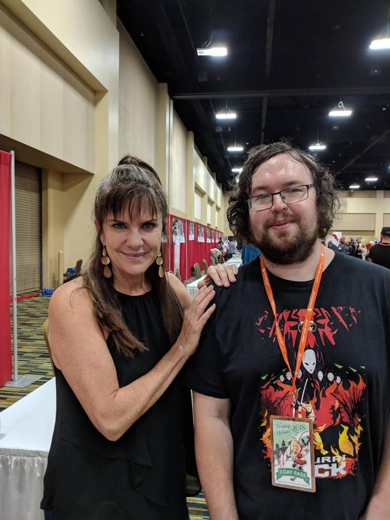 Meeting Jennifer Hale. by Kaiju-Brawler911