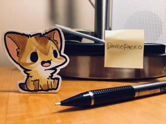Paper Benny the cat! by Damagedbro