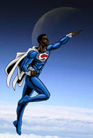 Earth 2 Superman by north-green