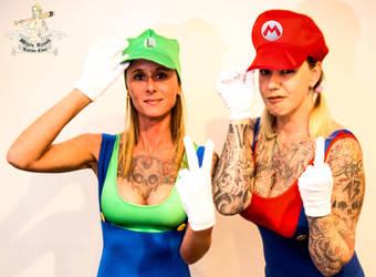 Mario En Luigi Web by mrswhitetrash