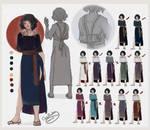 TOSoD: Sadako reference sheet by OctoProbz