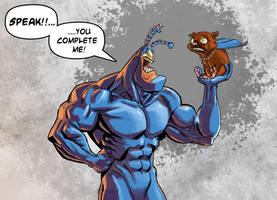 The Tick by PeteYong