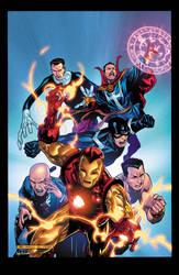 Marvel Illuminati 3 Cover by xXNightblade08Xx
