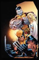 X-Men pin up cover by xXNightblade08Xx