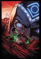 Green Lantern #9 for fun by xXNightblade08Xx