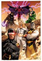 X-Men commission by xXNightblade08Xx