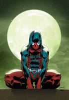 Ben Reilly - Scarlet Spider by xXNightblade08Xx
