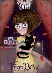 Fran Bow Poster by NataliaMartinsson