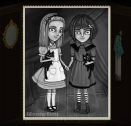 Fran and Alice by NataliaMartinsson