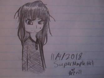 just a little doodle by SuperMapleGirl