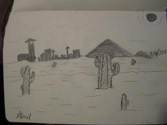 Desert by SuperMapleGirl