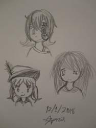 Random characters by SuperMapleGirl