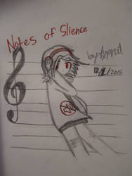 Notes of slience by SuperMapleGirl