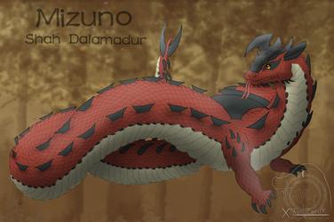 Mizuno the Dalamadur [Ref] by XSlimyZardX