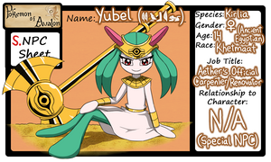 Yubel the Kirlia ::Official PoA NPC:: by Galactic-Rainbow