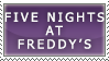 Simple FNAF Stamp by SecondQuill