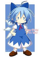 Happy Cirno Day by armenci
