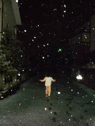 schnee macht kinder gluecklich by Mi-panda