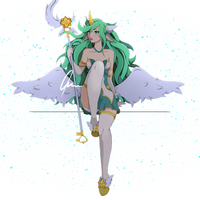 Star Guardian Soraka, Fan Art by MiniLarva