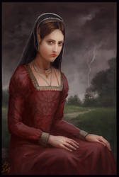 TudorQueens 2 - Anne Boleyn by KristinaGehrmann