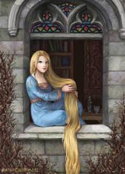 Rapunzel by KristinaGehrmann
