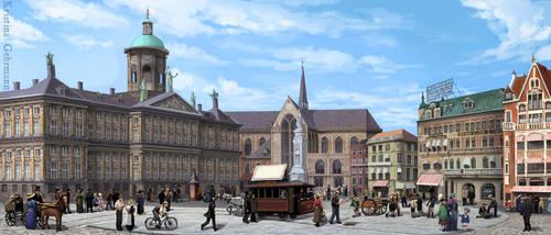 Amsterdam ca. 1910 by KristinaGehrmann