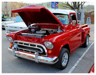 Very Nice Red Chevy Truck by TheMan268